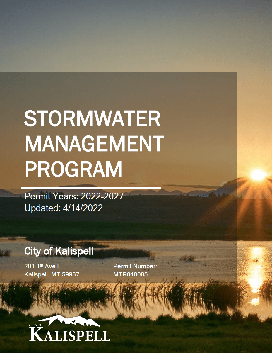 Stormwater Management Program Cover