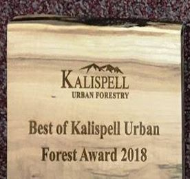 Best of Kalispell Award Plaque