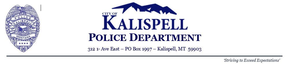 Police Dept. Letterhead