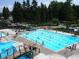 Woodland Water Park Lap Pool