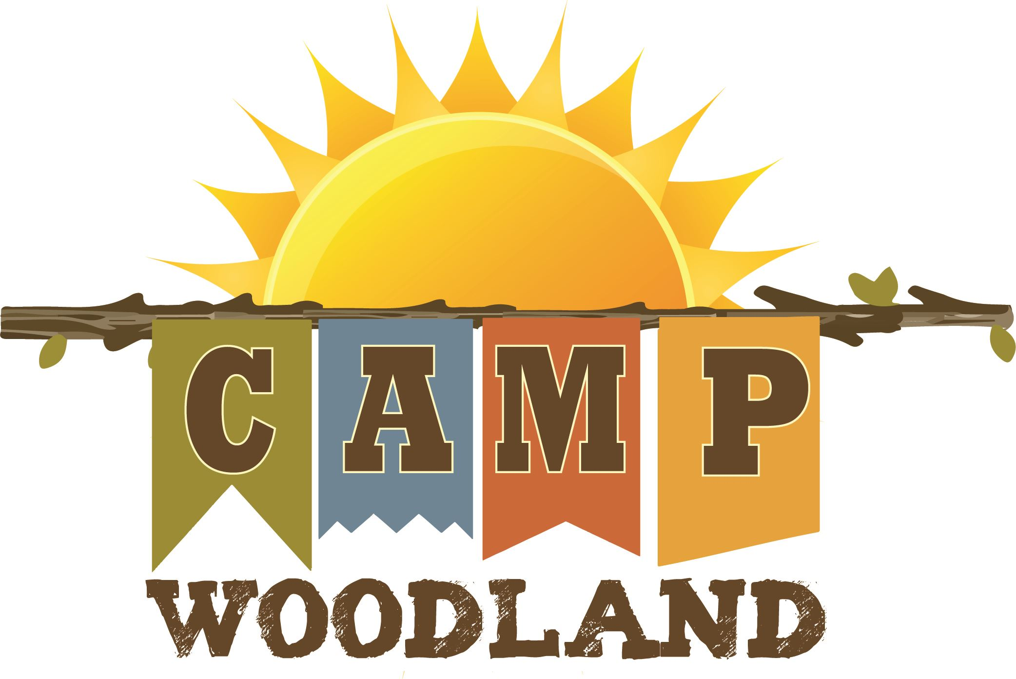 Camp Woodland logo